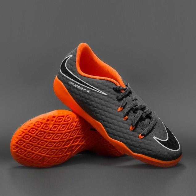 Детская футбольная обувь (футзалки) Nike HypervenomX Phantom 3 Academy IC Junior