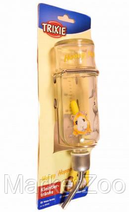 """Стеклянная поилка Trixie """"Honey hopper"""",125мл, фото 2"""