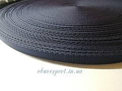 Ременная лента  10 мм, толщ. 1,5 мм, цв. синий