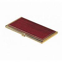 Футляр для визиток Bestar металлический, красное дерево (1327WDM)