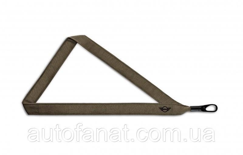 Оригинальный шнурок с карабином MINI Lanyard Grey (80272445682)