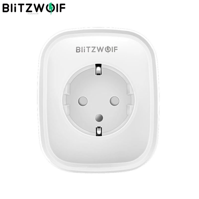 BlitzWolf BW-SHP5 WiFi умная розетка, 2 USB порта, умный дом. Мониторинг энергопотребления