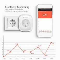 BlitzWolf BW-SHP5 WiFi умная розетка, 2 USB порта, умный дом. Мониторинг энергопотребления, фото 3