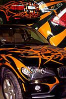 Оклейка авто самоклеящимися пленками