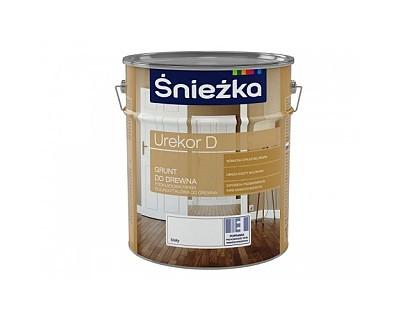 Грунтовка олійно фталева для деревини Снєжка UREKOR D  БІЛА  матова 1л   PL