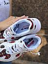 Женские кроссовки Adidas Yung белые из натуральной замши, фото 9