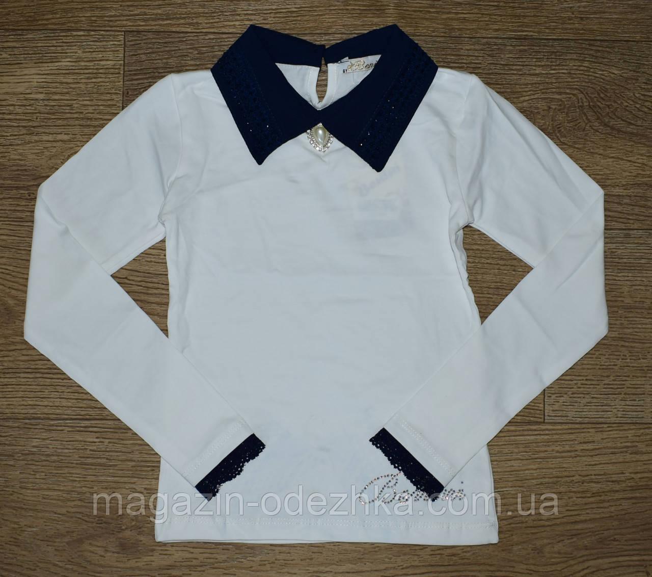 Школьная блузка для девочки оптом 116-134 рост