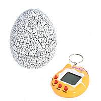 Игрушка электронный питомец Тамагочи в Яйце Динозавра KS Eggshell Game White - 150678