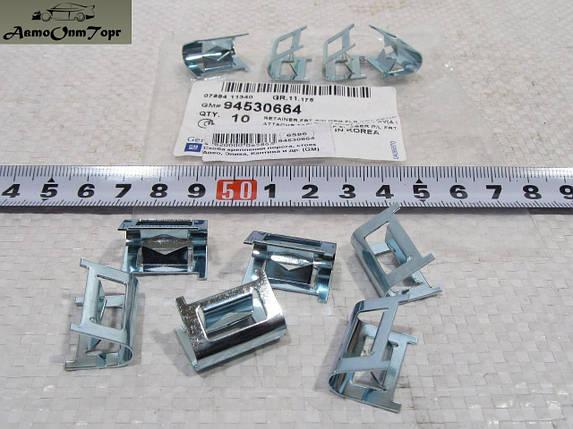 Скоба кріплення порога, стійок Chevrolet Aveo, Авео, Chevrolet Epica, Chevrolet Captiva General Motors (GM);, фото 2