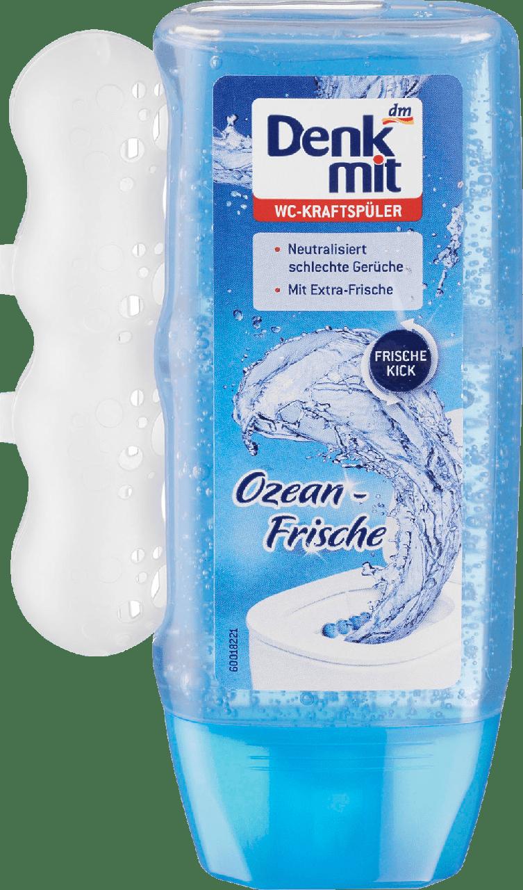 Подвесной блок для унитаза Denkmit WC-гель Ozean frische, 200 ml.