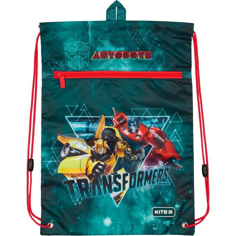 Сумка для обуви с карманом Kite Education Transformers TF19-601M-2