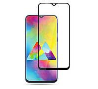 Защитное стекло 5D, 9H Полной оклейки для Samsung Galaxy M20 2019, Захисне скло