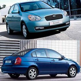 Фонари задние для Hyundai Accent '06-10