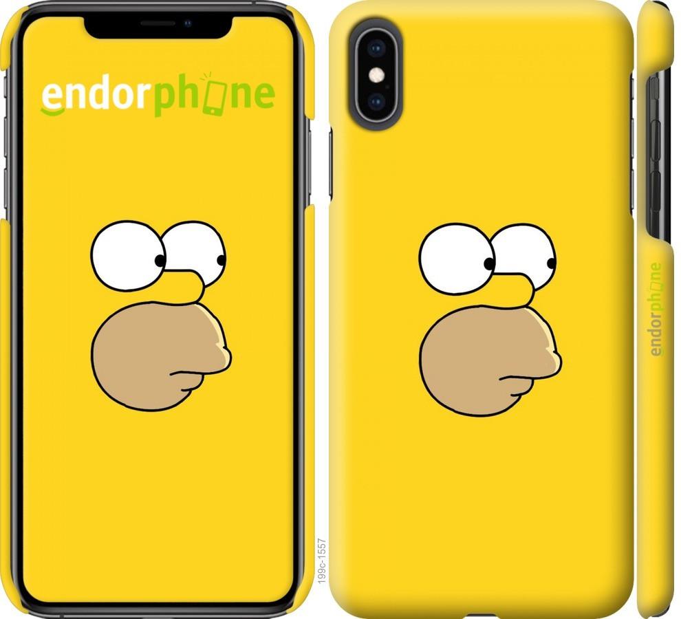 Чехол на iPhone XS Max Симпсоны. Гомер