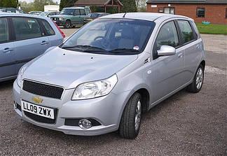 Chevrolet Aveo I-II (02-08) (Седан, Хэтчбек)