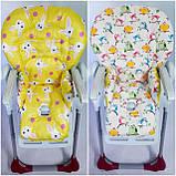Двухсторонний чехол на стульчик для кормления Peg Perego Prima Pappa, фото 4