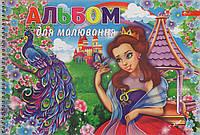 Альбом для рисования СКАТ А-15 20л на пружине