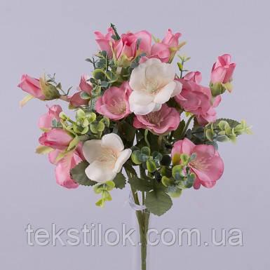 Букет квітки шипшини штучні Квіти