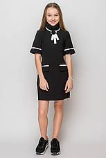 Нарядное  школьное платье белого цвета  , фото 2