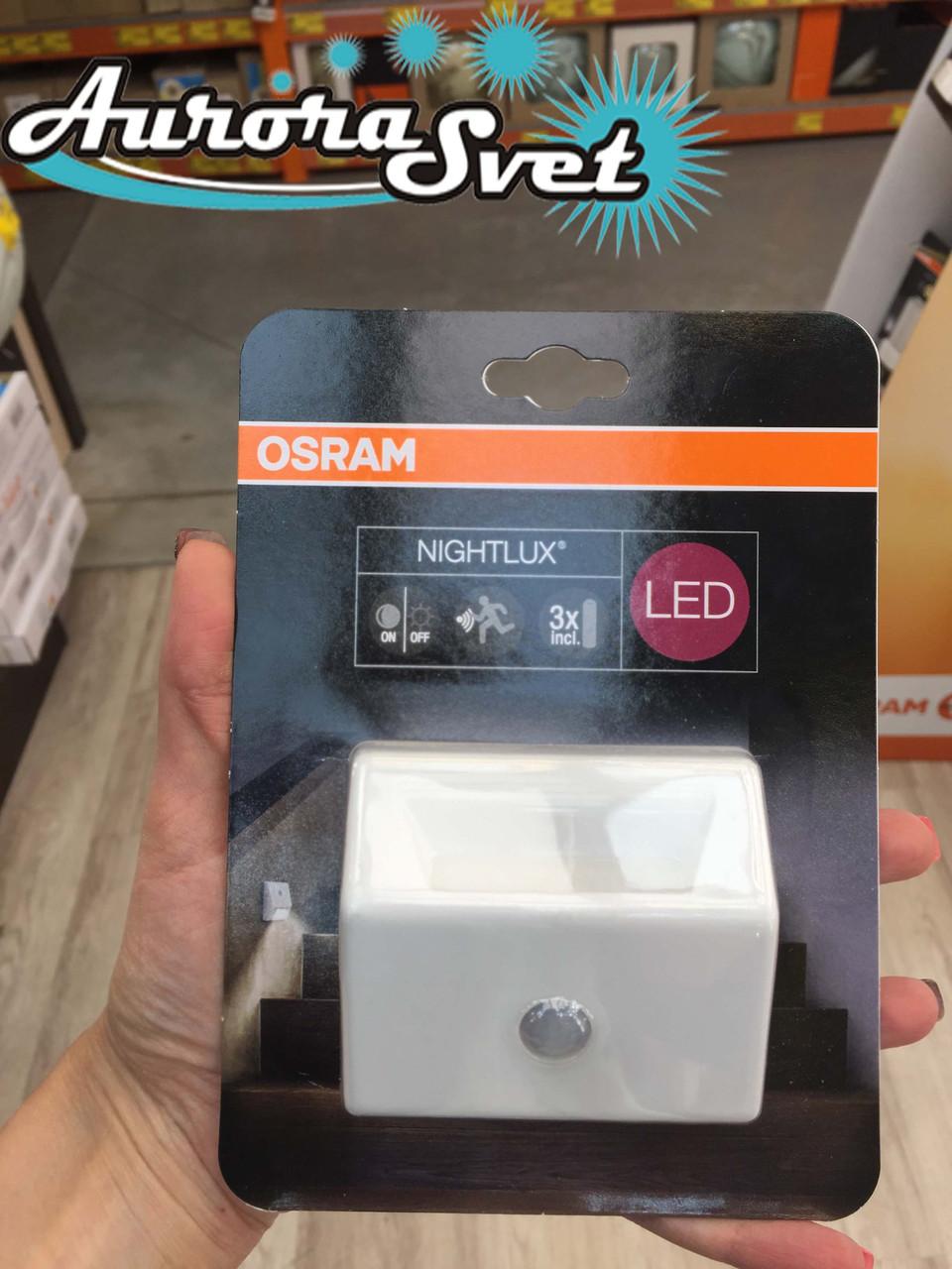 Cветодиодный ночник OSRAM. Ночник от сети. LED ночник с датчиком.