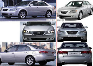 Фонари задние для Hyundai Sonata '05-10