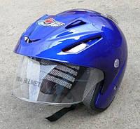 Шлем AD-168 Синий без бороды