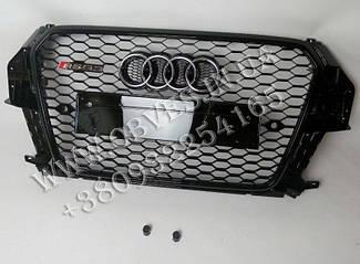 Решітка радіатора RSQ3 для Audi Q3 (чорна)