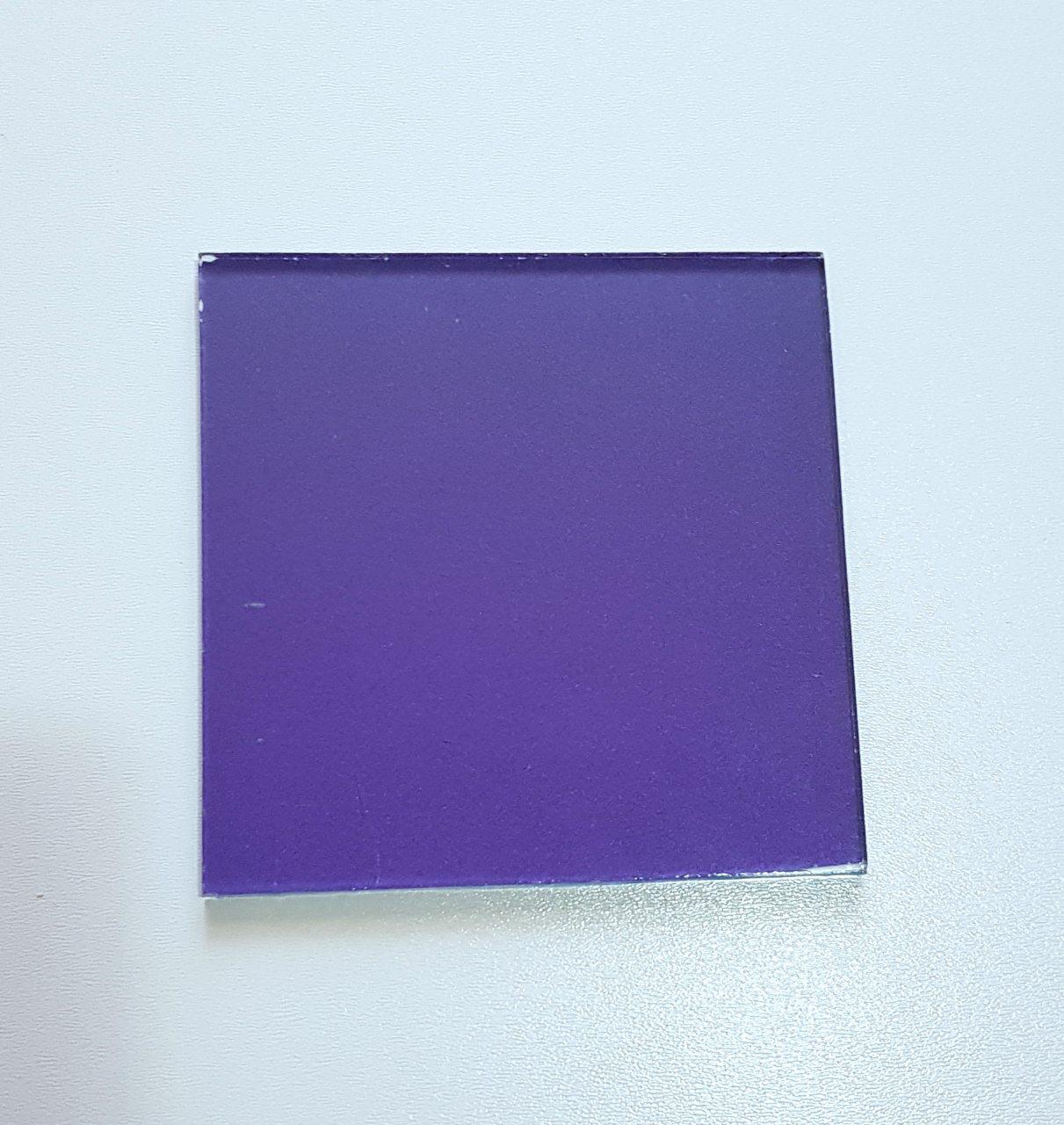 Стекло RAL Металлик фиолетовый 4011