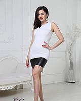 Стильное асимметричное платье на лето