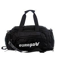 Сумка-рюкзак Europaw (черная) S, фото 1