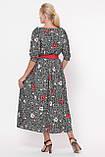 Плаття в підлогу Снежанна маки, фото 3