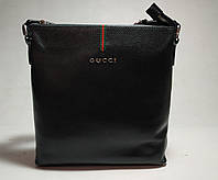 Сумка мужская GUCCI 66249-6 черная, фото 1