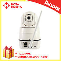 Камера с экраном NET CAMERA и датчиком движения | Поворотная камера видеонаблюдения 4 в 1 с экраном , фото 1