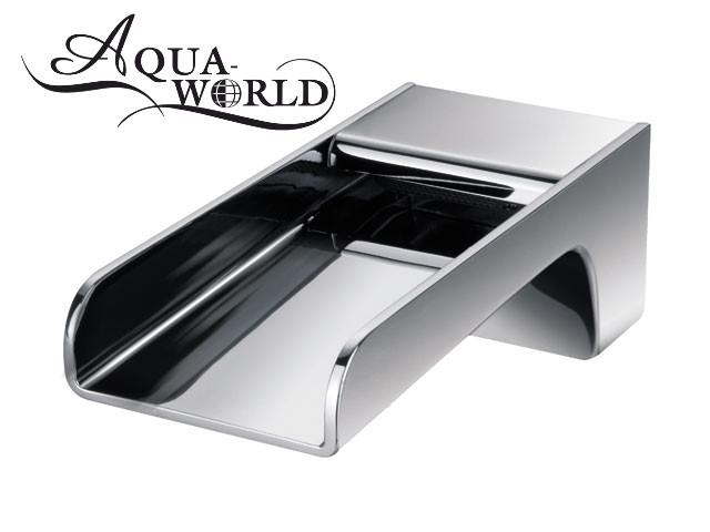 Излив водопад каскадный скрытого монтажа для ванны Aqua-World