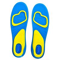 Гелевые стельки  амортизирующие для закрытой обуви