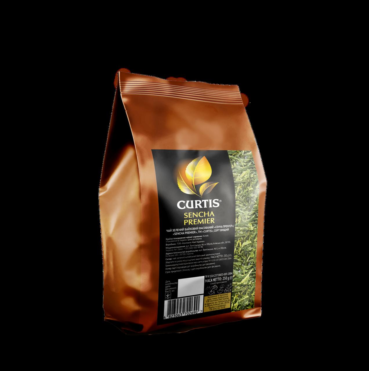 Чай CURTIS Зеленый Японский (Sencha Premier) 250г