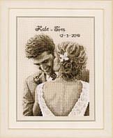 PN-0174559 Набор для вышивки крестом Vervaco Свадебное счастье