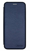 Чехол-книжка Aspor Leather case for Phone Xiaomi Redmi 7 (Dark Blue)