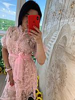 Женское модное летнее платье Фабричный Китай (Люкс качество)
