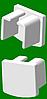 Заглушка на алюминиевый карниз