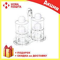 Набор для масла | уксуса | перца и соли Spice Jar. O.V.S.P. Stack Dispenser Set, фото 1