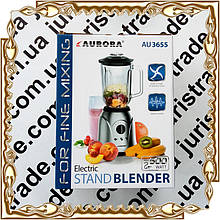 Блендер-чаша 500 Вт., 1,5 л. нерж.AURORA № 3655