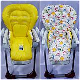 Двухсторонний чехол на стульчик для кормления Peg Perego Prima Pappa, фото 7