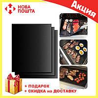 BBQ grill sheet гриль мат портативный антипригарным покрытием 33 * 40 см, фото 1