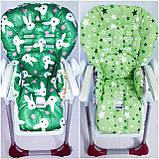 Двухсторонний чехол на стульчик для кормления Peg Perego Prima Pappa, фото 2