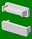 Заглушка алюминиевая средняя , фото 3