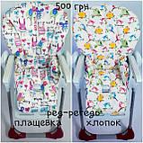 Двухсторонний чехол на стульчик для кормления Peg Perego Prima Pappa, фото 5