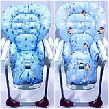Двухсторонний чехол на стульчик для кормления Peg Perego Prima Pappa, фото 9