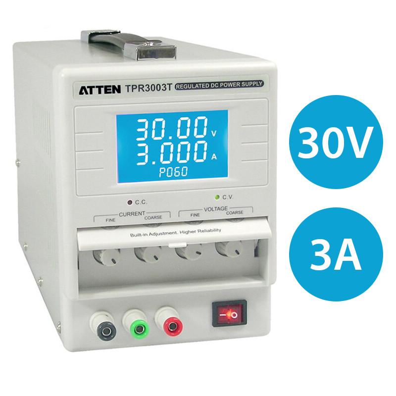 Лабораторный блок питания ATTEN TPR3003T 30V 3A, цифровая индикация
