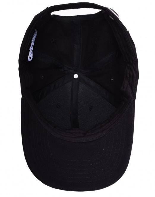 Кепка чёрная BASEBALL CAP 317  black